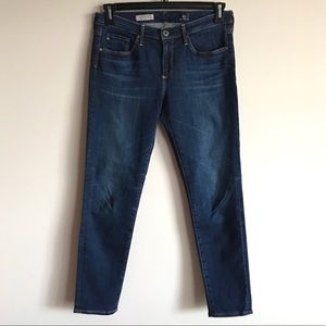 AG Adriano Goldschmied Slim Straight Ankle Jeans